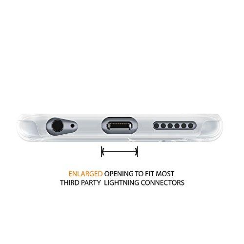 iPhone 6 6s Case, Fall, Hülle, True Color® Freiheitsstatue [Städtisch Wahrzeichen Sammlung] Gedruckt Auf Transparent Hybrid Hard + Soft Slim Dünn; Schutz stoßfest TPU Bumper Cover Venedig