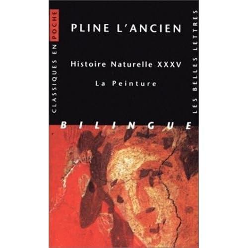 Histoire naturelle. Livre XXXV : La Peinture