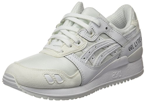 Asics Hn6g4, Chaussures Mixte Adulte Blanc
