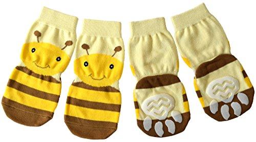 Pawzone Honey Design Dog Socks-M