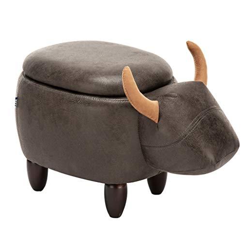 Hocker-Lagerung, Sofa Home Bank, Schuhbank, Kinderhocker, Stuhl aus Massivem Holz