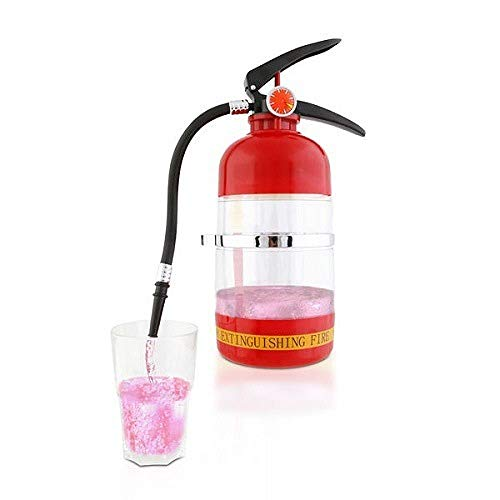 WEII Dispenser Bier Maschine Exotische Kreative Feuerlöscher Dekanter Mini-Getränkemaschine,Bild,Einheitsgröße (Sommelier Dekanter)