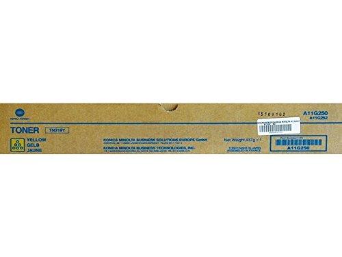 Preisvergleich Produktbild Konica Minolta A11G250 Bizhub C360 Toner, 26000 Seiten, TN319Y, gelb