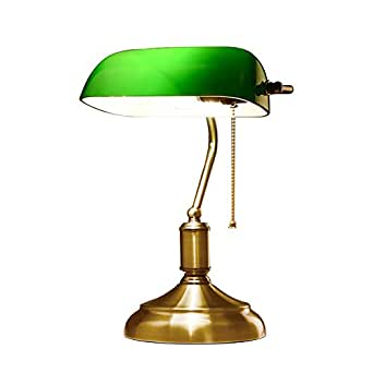 desk lamp amazon xiangyu retro traditional style bankers lamp table lamp 11638