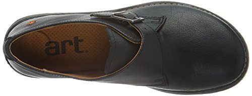 Art Heathrow Buckle, style monk, chaussures à fermeture strap   femme Noir - Black (Memphis Black)