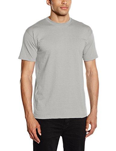 Fruit of the Loom Herren, Regular Fit, T-Shirt, Premium Tee Single Grey (Zinc)