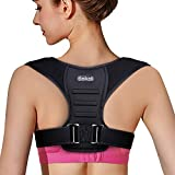 Beikell Posture Corrector, High Elastic Adjustable Posture Correction Back Brace for Women and Men and Convenient for Neck, Shoulder and Upper Back Pain Relief and Posture Trainer
