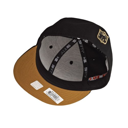 New Era New Orleans Saints 59Fifty Fitted Super Bowl Side Patcher NFL Cap 7 1/4 - 3