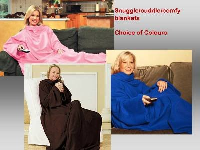 warm-sleeved-snug-fleece-snuggle-cuddle-blanket-snuggie-comfy-blanket-3-colours-pink