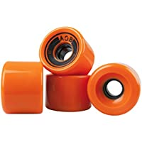 "Longboard Rolle AOB ""Straight"" 65mm, 78a, orange/blau/schwarz"