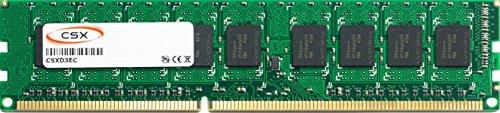 CSX CSXD3EC1333L2R8-8GB 8GB DDR3-1333MHz PC3L-10600E 2RX8 512Mx8 18Chip 240pin CL9 1.35V LV ECC Unbuffered DIMM Arbeitsspeicher - Cl9 Unbuffered Dimm Memory