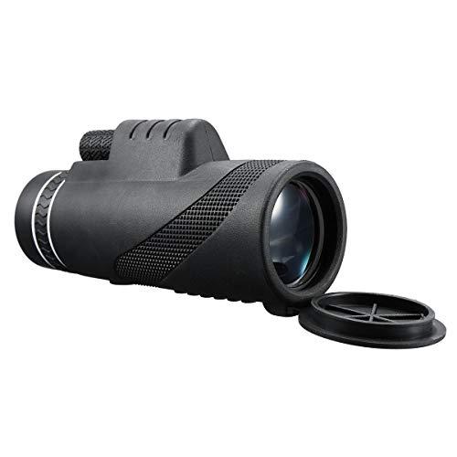 ZUEN 40X60 Dual-Focus HD-Optik Zoom-Monokular-Teleskop Wasserdicht Super Clear für die Jagd im Freien - Super Optik