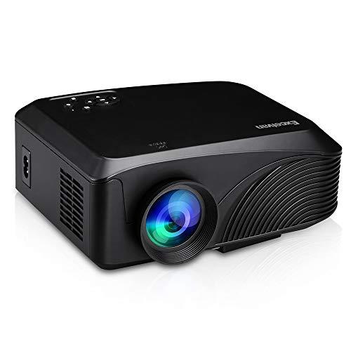 Hanbaili 4K 3D HD Smart Projektor 4K 3D 1080P HD Projektor 1080P Tragbarer Smart Media Player HDMI / AV / USB / VGA / TF HD