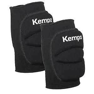 kempa handball volleyball knieschoner indoor protektor gepolstert paar schwarz f r kinder. Black Bedroom Furniture Sets. Home Design Ideas