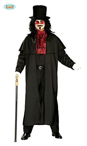 KOSTÜM - LORD DRACULA - Größe 52-54 (L), Verfilmung Vampire Fledermäuse Blutsauger (Lord Kostüm)
