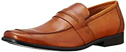 Steve Madden Mens Henlee Tan Leather Formal Shoes - 8 UK