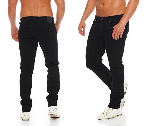 Jack & Jones Herren Jeans / Straight Fit Jeans jjiTim jjOriginal Black Denim
