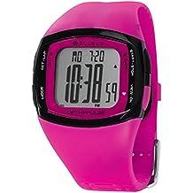 Soleus Rhythm - Reloj de pulsera deportivo con monitor de actividad física y salud, con monitor de ritmo cardíaco, rosa/negro