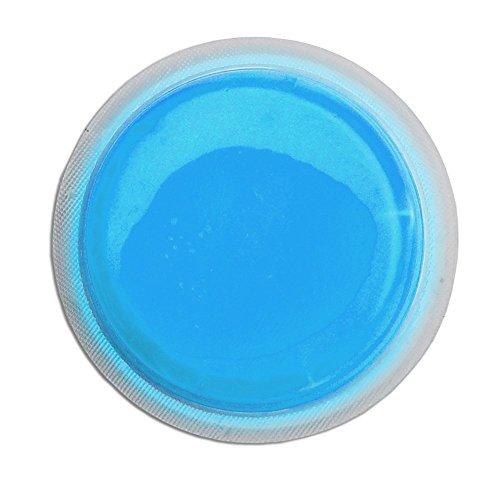 Cyalume LightShape Leuchtmarkierer ringförmig in Blau (100-er Pack) - Leuchtdauer 4h - selbstklebender Leuchtmarkierer mit 8cm Durchmesser - per Druck aktiviert - für Evakuierungen, Triage, Markierungen