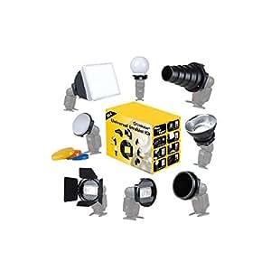 Linkstar SLK-8 Kit Strobist pour flash cobra avec 8 accessoires