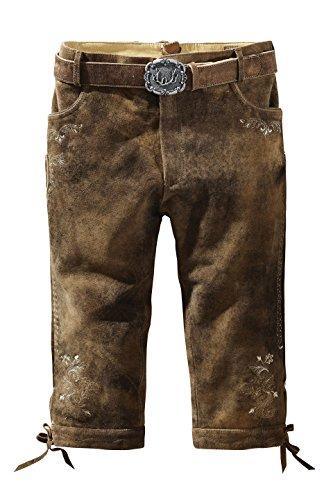 Herren Trachten Lederhose von der Marke STOCKERPOINT in verschiedenen Farben, Sigmar3, Farbe:Havanna;Größe:54
