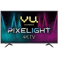 VU 126 cm (50 inches) Pixelight 4K HDR Smart LED TV 50QDV (Black) (2019 Model)