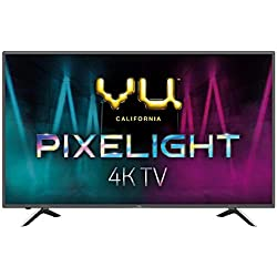 VU 138 cm (55 inches) Pixelight 4K HDR Smart LED TV 55QDV (Black) (2019 Model)