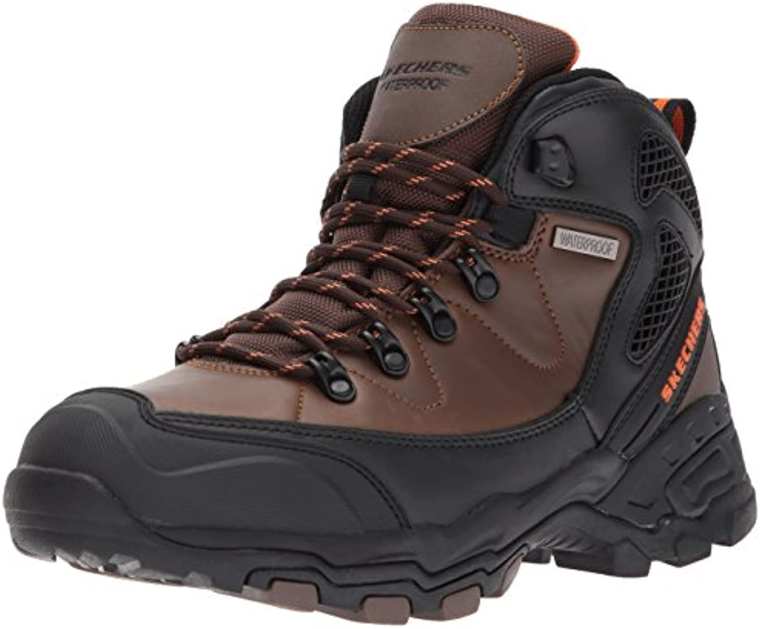 Skechers Pedley Aster Men'S Outdoor Boots Waterproof Relaxed Fit