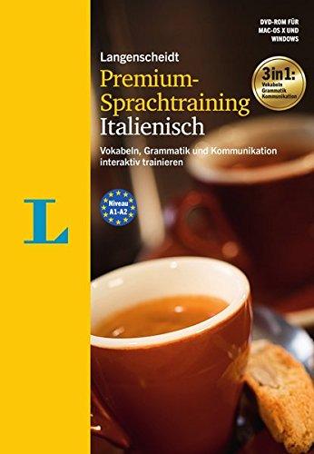 Langenscheidt Premium-Sprachtraining Italienisch - DVD-ROM: Vokabeln, Grammatik und Kommunikation...