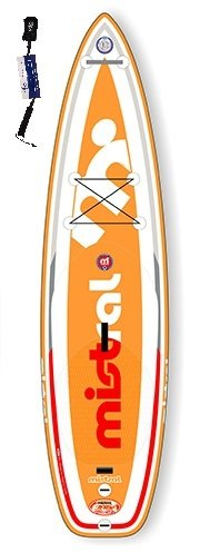 Mistral Sumatra 10'6 TRIPE-Line, Standup Paddel Board, SUP aufblasbar inkl. SUPwave.de Coil-Leash Stand up Paddle Board iSUP