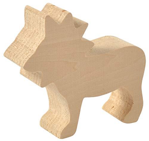 EDUPLAY 210204Holz geschnitzt Zoo Spielzeug (Barn Party Animal Supplies)