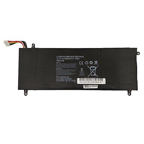 11.1 V Ersatz (7XINbox 47.73Wh 4300mAh 11.1V Ersatz Akku Batterie für GIGABYTE GNC-C30 U2442 U24F P34G V2)