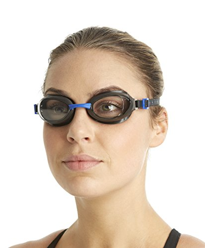 Speedo Unisex Schwimmbrille Aquapure, grey/clear, one size, 8-090029123