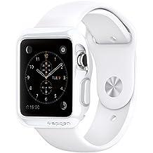 Spigen SGP11557 - Funda para Apple 38mm Watch, Blanco