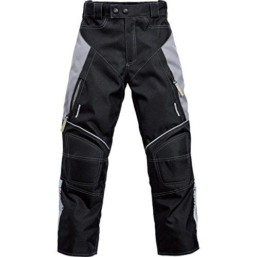 Motorradhose Road Sommertour Kinder Textilhose 1.0 schwarz 158-164