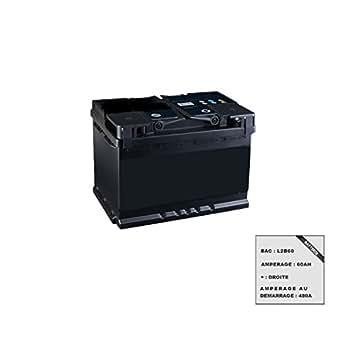 Batterie 12V de démarrage L2B60-60AH-480A-D