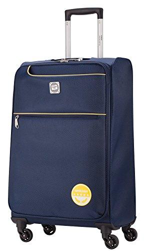 HAUPTSTADTKOFFER® 55 Liter (ca. 60 x 40 x 22 cm) Weichgepäck · Reisekoffer · MITTE LIGHT · in verschiedenen Farben (Lila) Blau