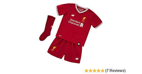 84a30e7a0 New Balance Liverpool Home Infant Kit 2017 2018-116cm  Amazon.co.uk  Sports    Outdoors