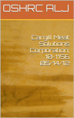 cargill-meat-solutions-corporation-10-1156-05-14-12-english-edition