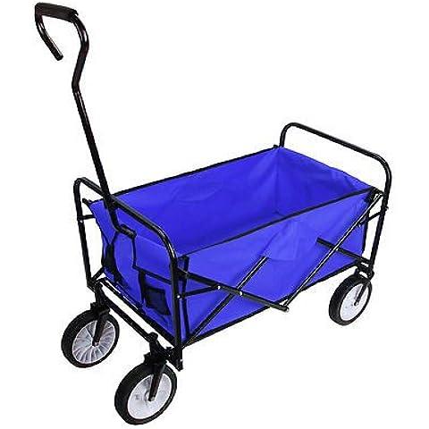 Iglobalbuy Plegable plegable plegable de jardín carretilla carro de la compra de camiones de servicio pesado Carretilla regalo Transporte