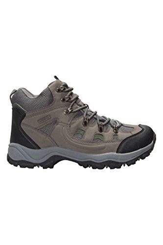Mountain Warehouse Chaussures Homme Randonnée Imperméable Boots Marche Adventurer Kaki