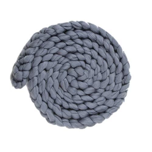-Baby-Fotografie Props Braid Decke Stretch Knit Newborn Fotosession Soft-Wraps Zubehör ()
