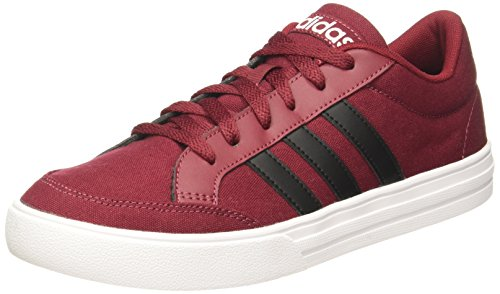 4. Adidas Men's Vs Set Cburgu/Cblack/Ftwwht Formal Shoes