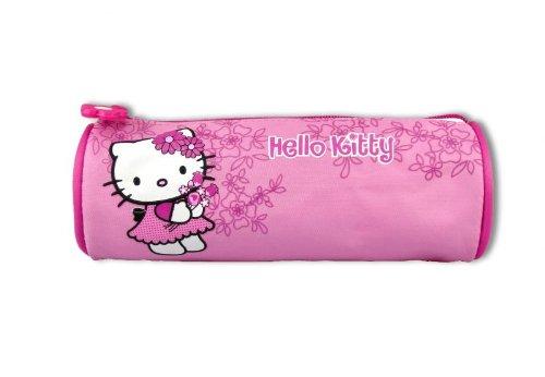 Hello Kitty Schlamper Etui pink Blume