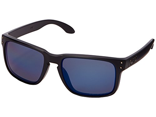 Holbrook, OO9102-52 ,Schwarz (Matte Black / Ice Iridium Polarized) ()