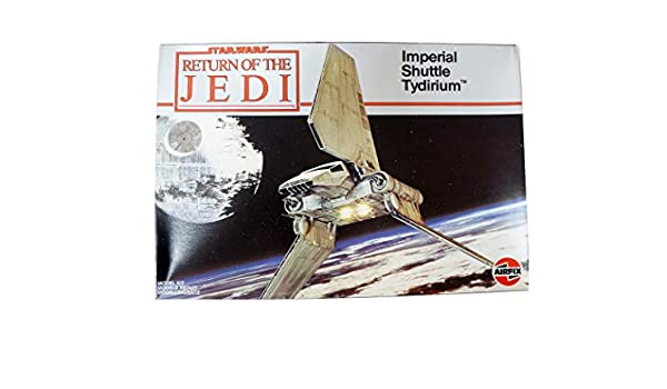 Model kit Vintage Airfix 1983 Ultra Rare Star Wars The Return Of The Jedi Imperial Shuttle Tydirium Scale Shop Stock Room Find
