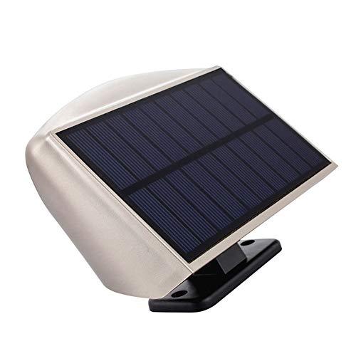 Oval Flutlicht (Solar Body Sensing Wandlampe LED * 36 Outdoor Wasserdichte Beleuchtung Dämmerung Zu Morgenlicht Aluminium-Legierung Kleine Edelstahl-Fernbedienung Weitwinkel Flutlicht Laterne Oval)