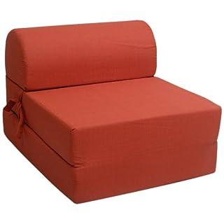 Pole JODYZC1H2391 Foster Chauffeuse Uni Rouge 63 x 77 x 51 cm