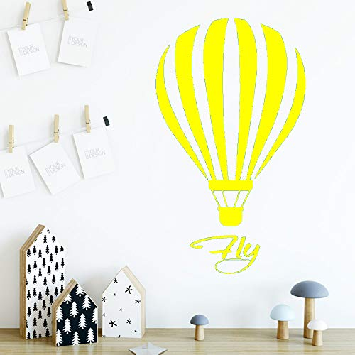 Ajcwhml Heißluftballon Tapete Aufkleber abnehmbare Wandaufkleber Tapete Kinderzimmer Dekoration dekorative Accessoires 30cm x 51cm