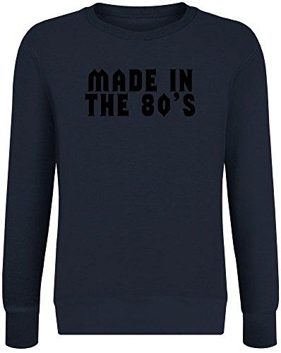 0er Jahren - Made In The 80's Sweatshirt Jumper Pullover for Men & Women Soft Cotton & Polyester Blend Unisex Clothing XX-Large ()